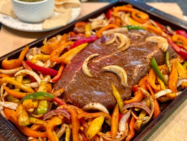 Brimming with Tex-Mex flavor and lots of colorful vegetables, this recipe became an instant favorite in our house. And you'll never believe how quickly it cooks!