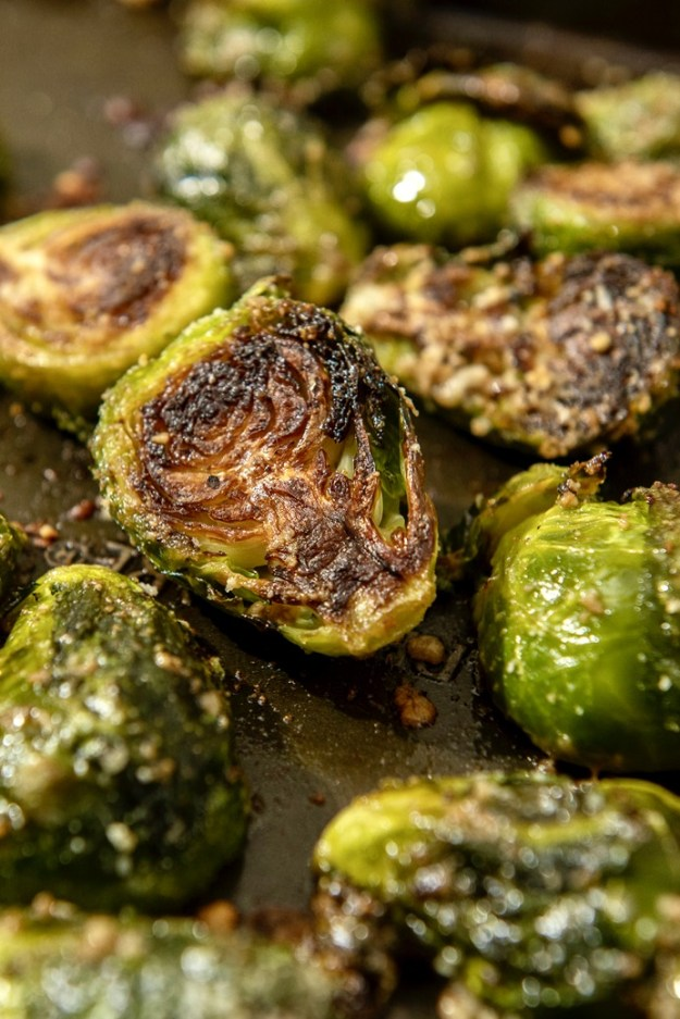 Roasted Brussels sprouts soar to new heights thanks to a few choice ingredients and a few helpful tips. Vegetables never disappeared so fast!