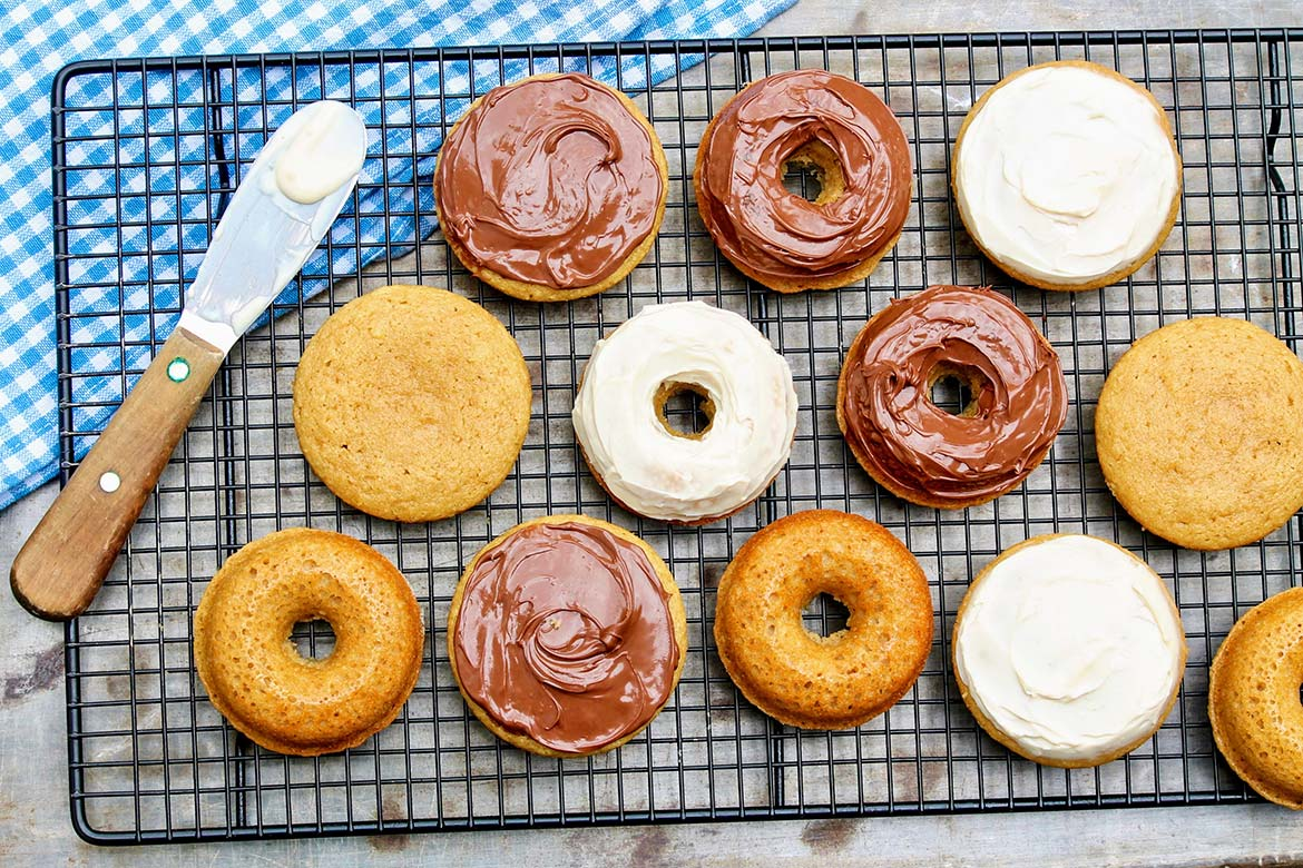 No messy frying step needed for deliciously satisfying, grain-free donuts. No donut pan? No problem. The recipe can be made as muffins instead!