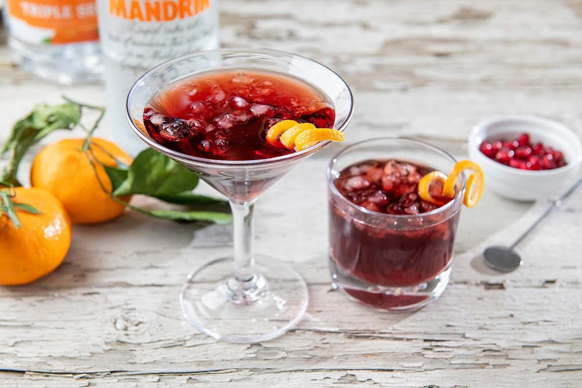 """Fruity yet not overly sweet, this martini is delightfully crisp and refreshing—and not too potent! And ever wonder how to make crushed ice, or better yet, """"soft"""" ice? I've included the easy how-to!"""