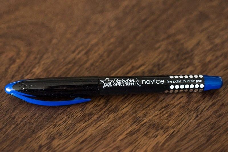 Thornton's Novice Best Disposable Fountain Pen