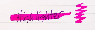 what is fountain pen ink noodlers highlighter hellfire