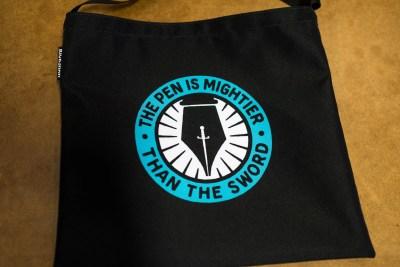 Rickshaw bags pen sleeves pen is mightier bag