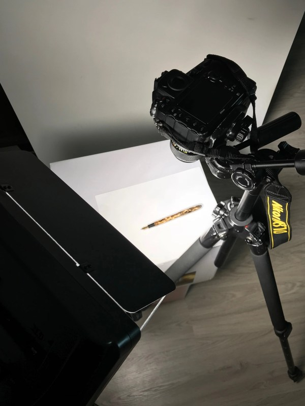 photograph a fountain pen setup