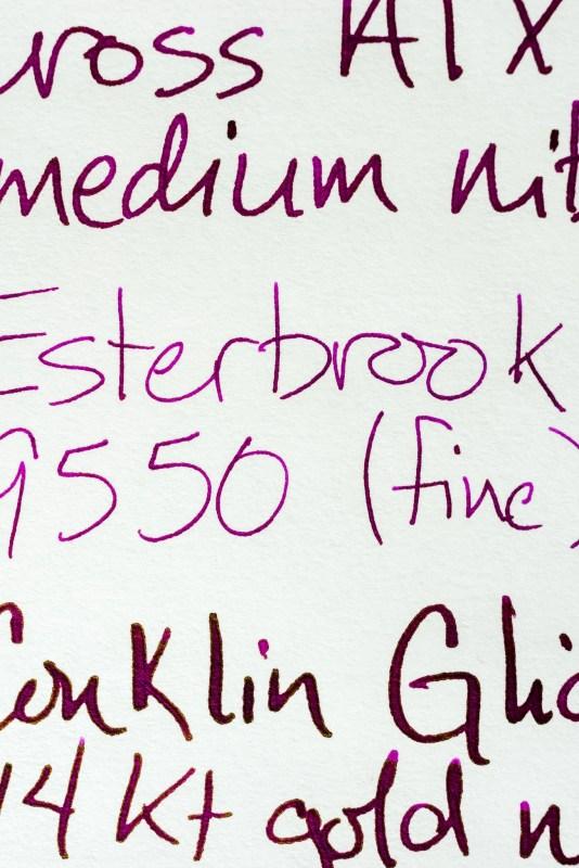 life bank paper fountain pen nib performance