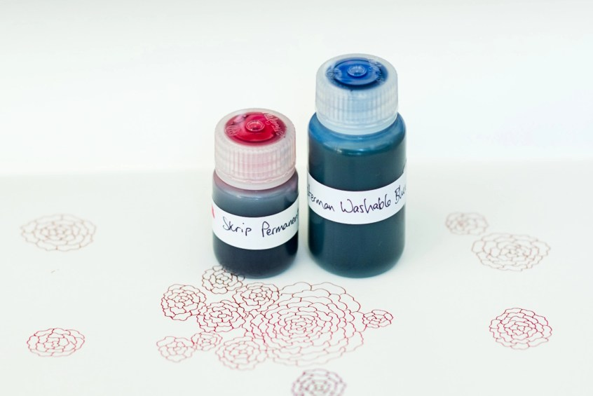 nalgene bottle fountain pen ink storage