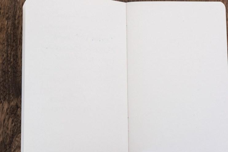 berlin notebook fountain pen friendly paper ghosting