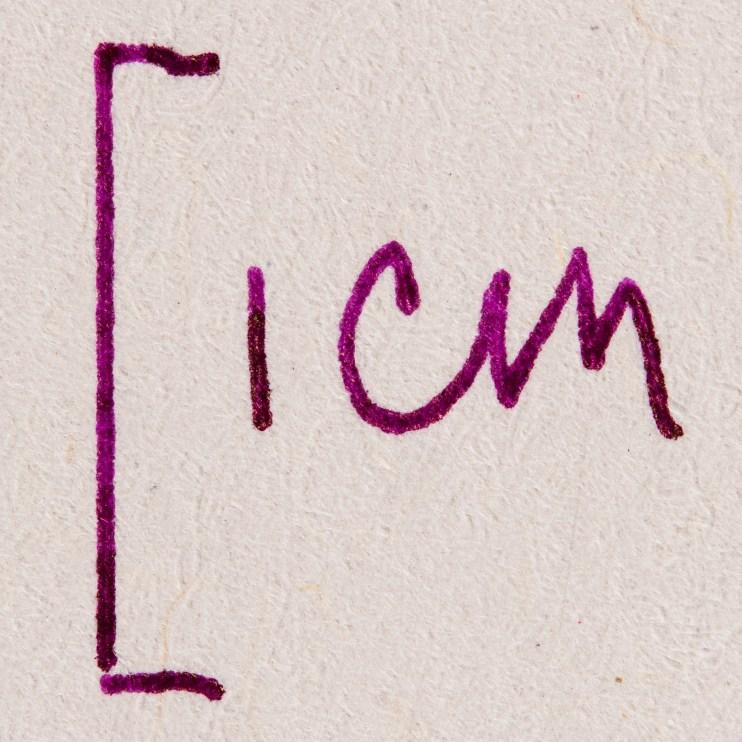 fountain pen friendly paper macro photography Berlin Notebook
