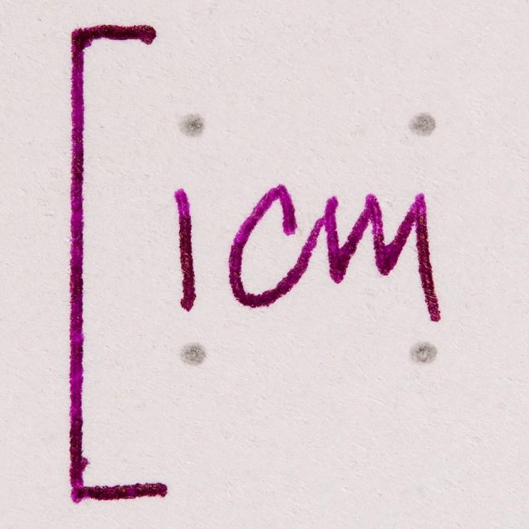 fountain pen friendly paper macro photography rhodia dot