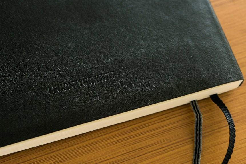 Leuchtturm1917 softcover notebook review detail