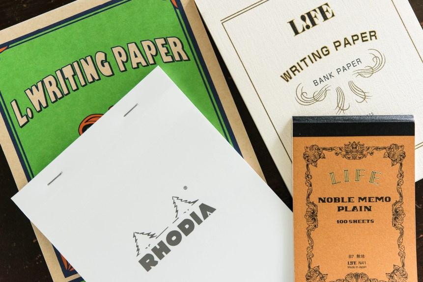 life rhodia fountain pen friendly paper