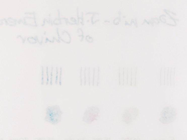 Tomoe River 52gsm Paper Review ghosting