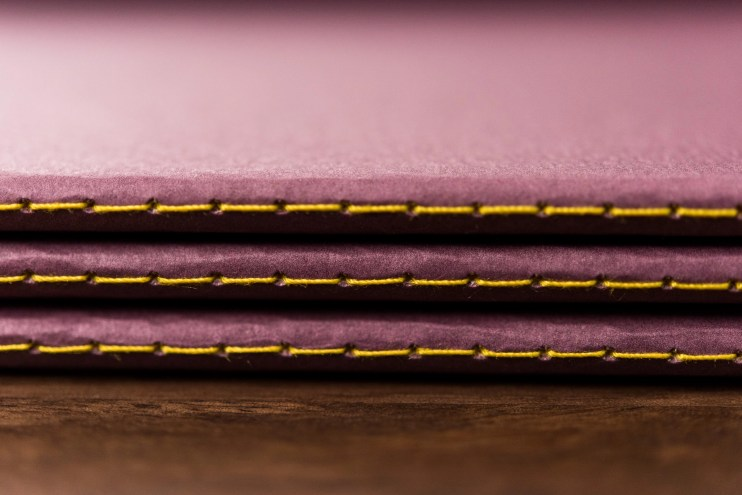 Baron Fig Vanguard Notebook Review yellow binding