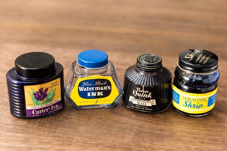 Is it safe to use old fountain pen inks bottles