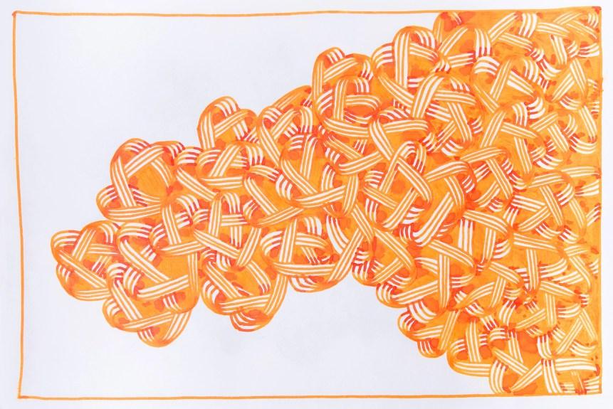 fountain pen doodle sailor apricot