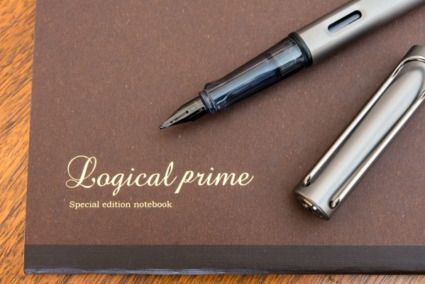 Logical prime notebook review lamy lx fountain pen