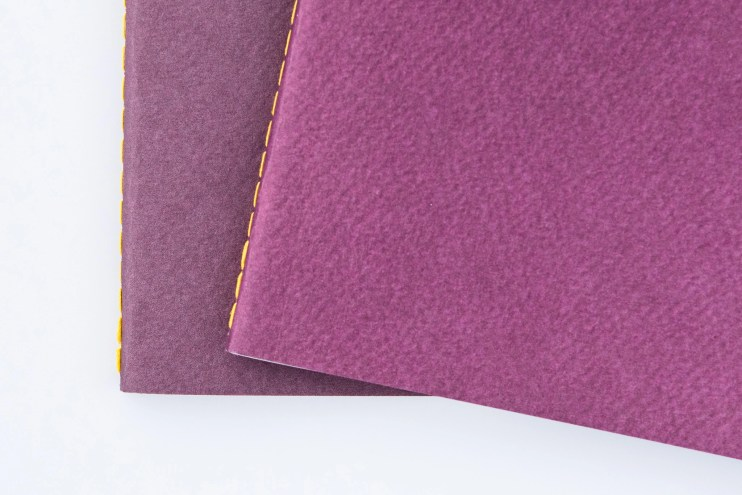Baron Fig Vanguard Notebook Comparison cover color