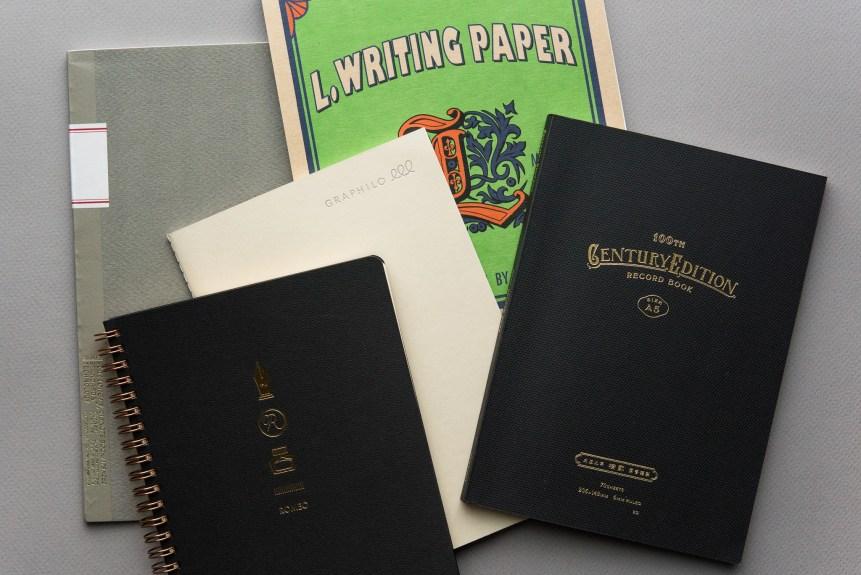 Custom fountain pen friendly paper samples