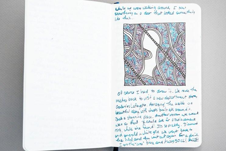 Fountain Pen Fun Notebook doodle
