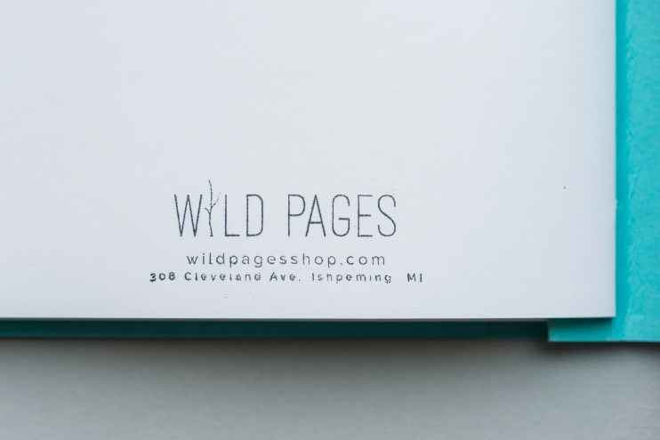 Wild Pages Notebook Review logo