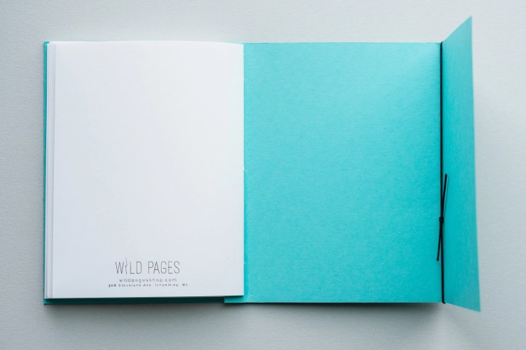 Wild Pages Notebook Review back cover