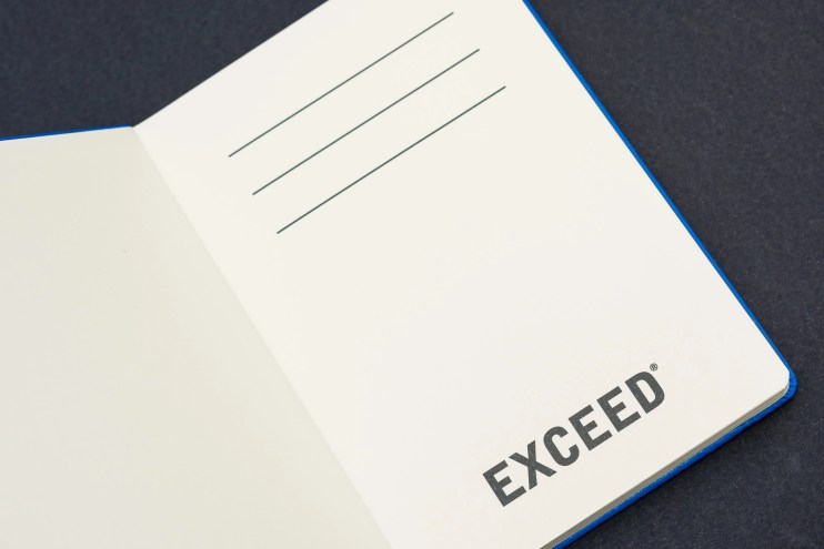 Exceed notebook review front page