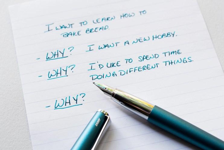 lamy studio writing 5 whys