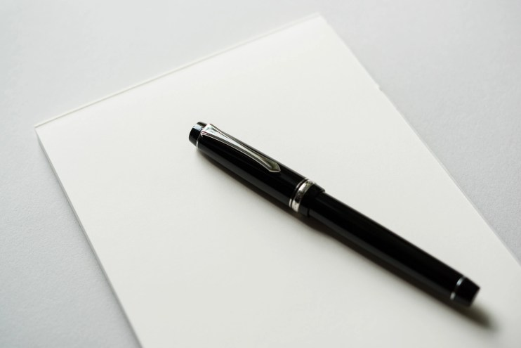 best fountain pen paper for writing letters midori md