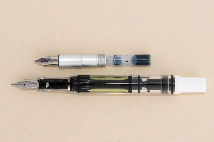 expensive versus inexpensive fountain pen difference piston filler