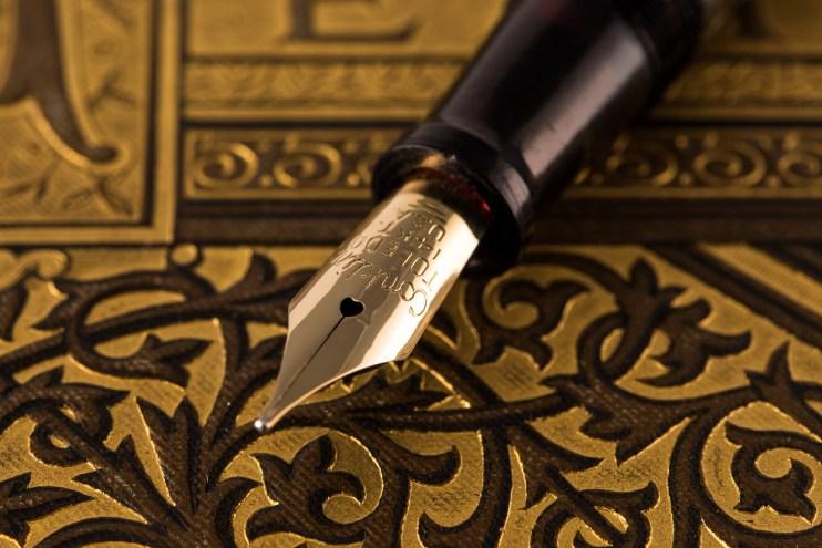 focus stack conklin fountain pen nib