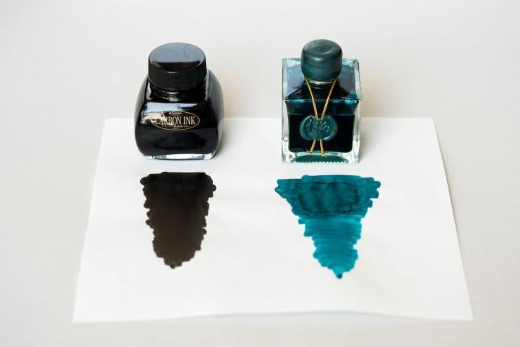 fountain pen ink platinum carbon black