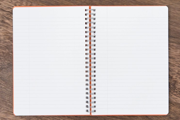Figurare Notebook page layout