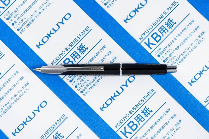 Kokuyo KB Business Paper with Namiki Vanishing Point fountain pen