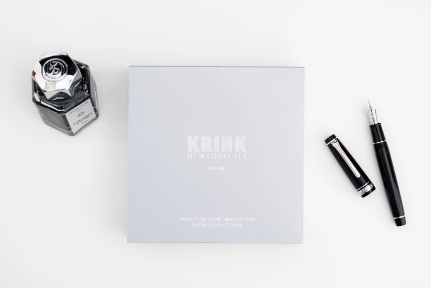 Krink notepad review