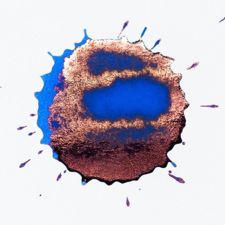 fountain pen ink visconti blue