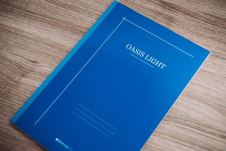 profolio oasis light notebook