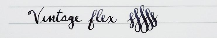 choosing a fountain pen nib for beginners flex