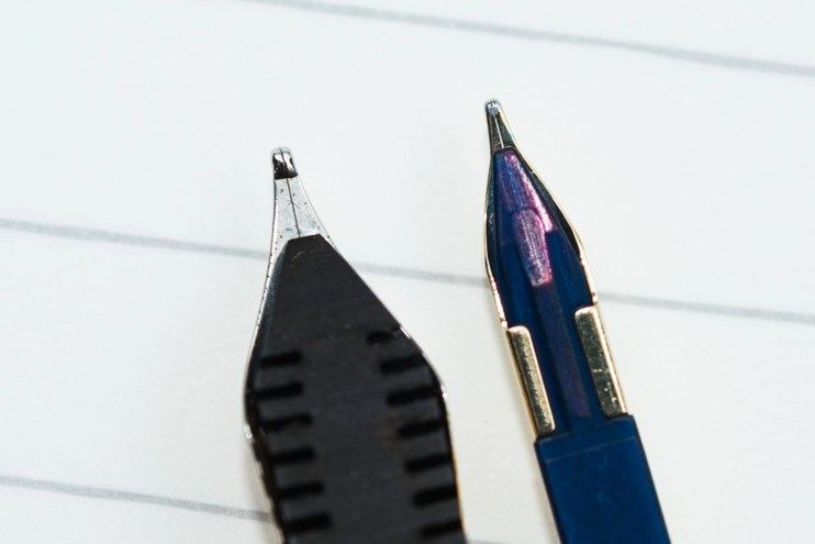 choosing a fountain pen nib for beginners tip size