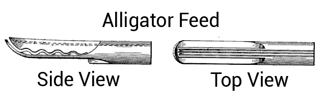 """Snapfil Pen """"Alligator Feed"""""""