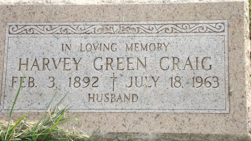 Harvey Craig Gravestone