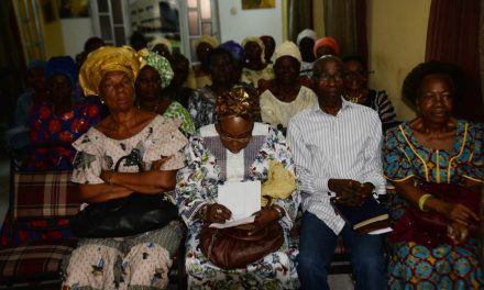 Abraham and Sarah Fellowship Holds Thanksgiving Service