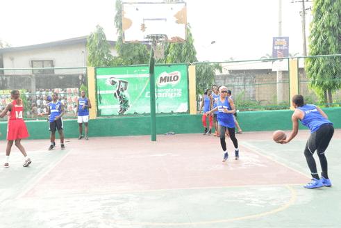 The Warriors Basketball Court