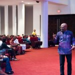 """Pray in the Spirit"", Pastor Taiwo Encourages Showerians"