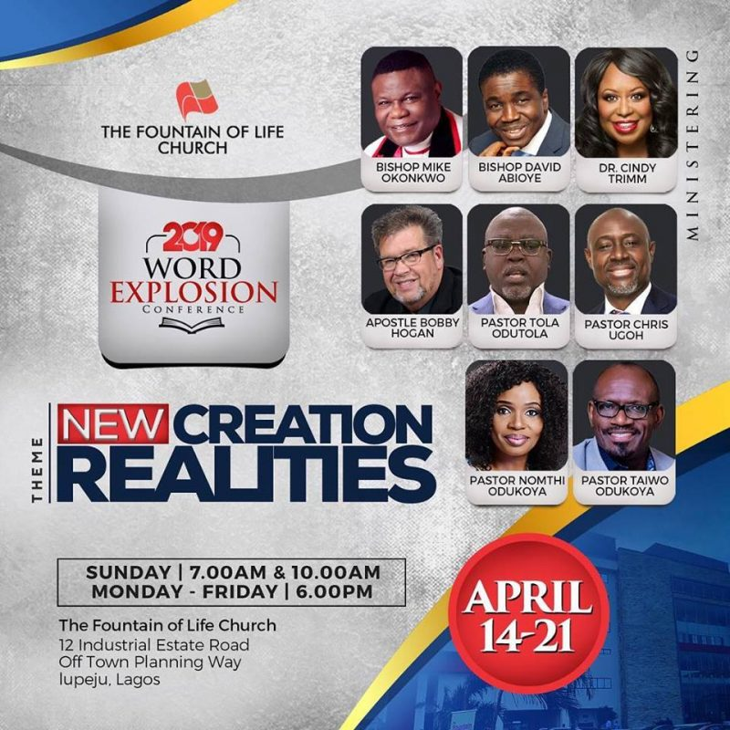 Word Explosion Conference Begins April 14 | Fountain News