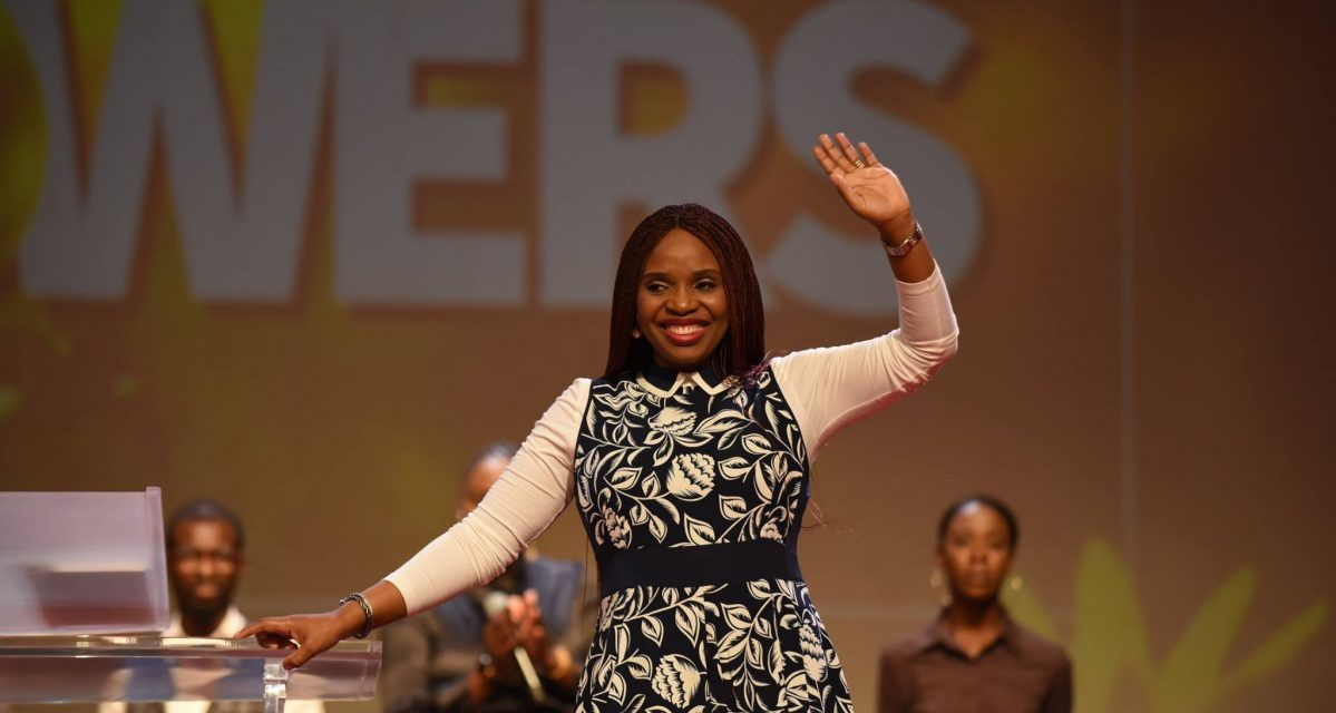 You Are Winners, Pastor Nomthi Tells Worshippers