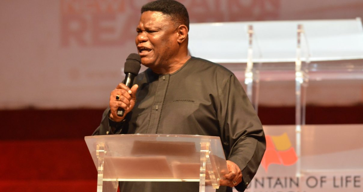 Bishop Mike Okonkwo Expounds on New Creation Realities at #WEC2019