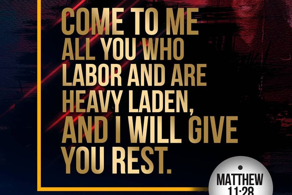 Promise For The Week – Matthew 11:28