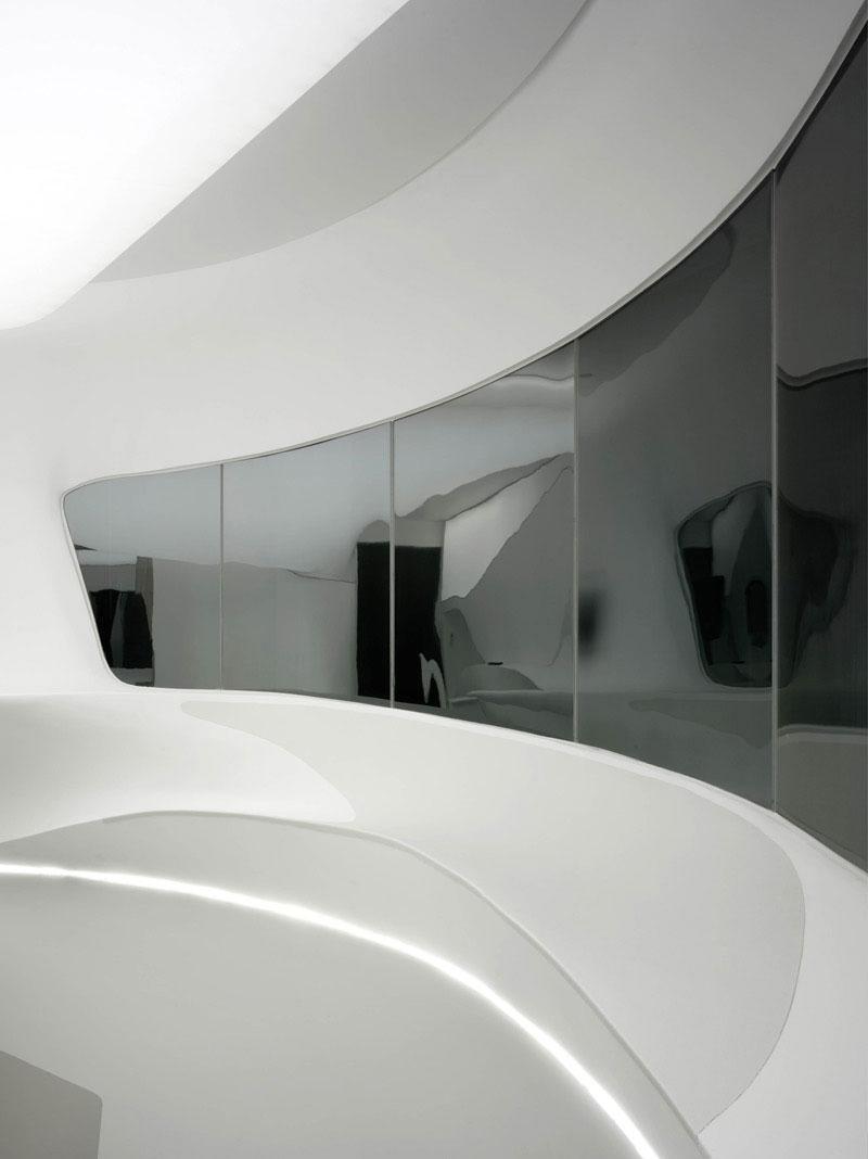 Futuristic Hotel Room Interior Design By LAVA Founterior