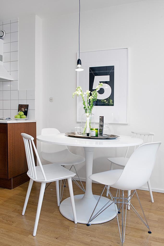 Scandinavian Small Apartment Interior Design In Gothenburg