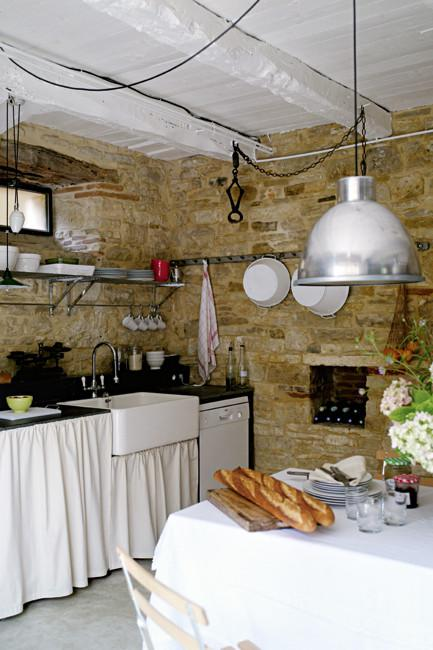 Rustic French Country Home Interior Design In Paris
